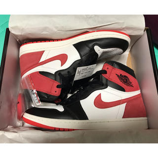 NIKE - NIKE AIR JORDAN1 RETRO HIGH OG TRACK RED