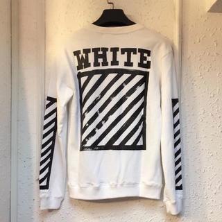 OFF-WHITE - OFF WHITE オフホワイトパーカー