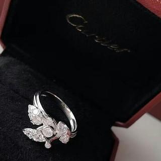 カルティエ(Cartier)の超美品Cartier❤ リング レディース ファッション 新品 #6(リング(指輪))