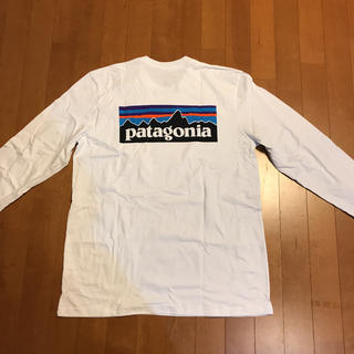patagonia - 新品  パタゴニアロングスリーブP-6ロゴ・レスポンシビリティー