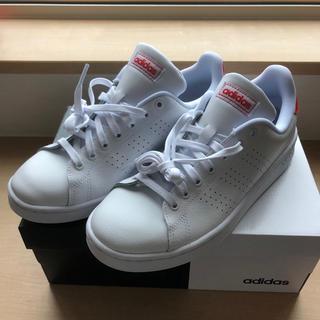 アディダス(adidas)のadidas メンズ スニーカー レッド 新品(スニーカー)
