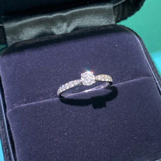 ティファニー(Tiffany & Co.)の美品 ティファニー ソリティア  ハーモニー リング 0.25ct(リング(指輪))