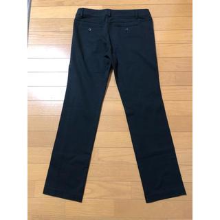 ディーエイチシー(DHC)の【DHC】黒ポンチ素材 パンツ(カジュアルパンツ)