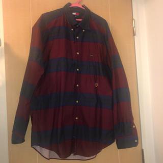 トミーヒルフィガー(TOMMY HILFIGER)のビッグサイズシャツ(シャツ/ブラウス(長袖/七分))