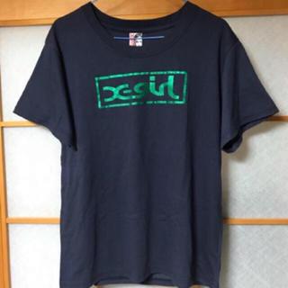 エックスガール(X-girl)のネイビー Tシャツ(Tシャツ(半袖/袖なし))