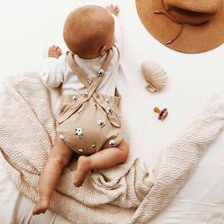 キャラメルベビー&チャイルド(Caramel baby&child )の3-6m【organic zoo】Cottonfield サロペット(ロンパース)