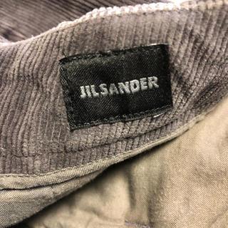 ジルサンダー(Jil Sander)のJIL SANDER/ジルサンダー✩︎メンズ コーデュロイパンツ グレー(その他)
