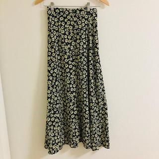 LOWRYS FARM - ローリーズファーム ◎ 新品未使用タグ付き ◎ 花柄スカート