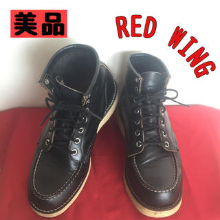 REDWING - 【美品】レッドウィング アイリッシュセッター 黒 犬タグ ワークブーツ ブーツ