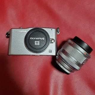 OLYMPUS - OLYMPUS E-PM1レンズキット デジタルカメラ