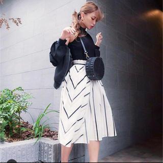 リエンダ(rienda)のrienda リエンダ 新品未使用 スカート(ひざ丈スカート)