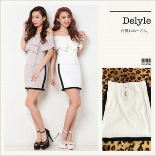 デイライルノアール(Delyle NOIR)のDelyle♡サイドラインバイカラースカート(ミニスカート)