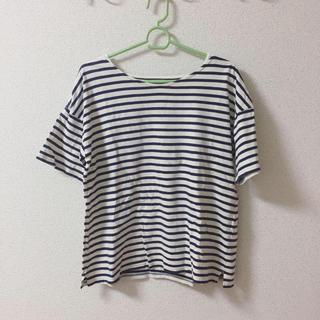 サマンサモスモス(SM2)のSM2 ボーダー  Tシャツ(Tシャツ(半袖/袖なし))