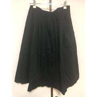 ジーユー(GU)のGU 黒 スカート(ひざ丈スカート)