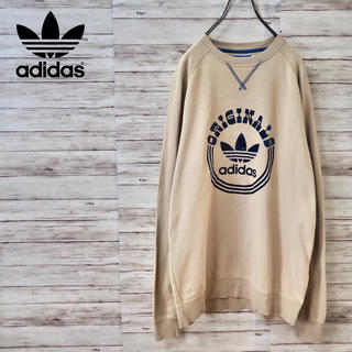 adidas - Adidas Originals ナチュラルカラー ゆったりロゴスウェット