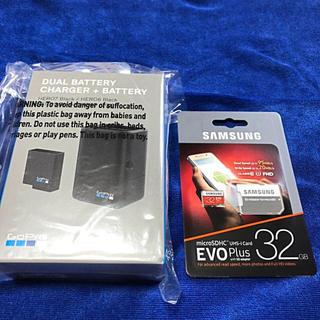 GoPro - 新品未使用 GoPro バッテリーチャージャー 推奨 SDカード 32GB