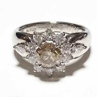 プラチナ ダイヤモンド リング Pt900(リング(指輪))