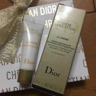 クリスチャンディオール(Christian Dior)のDior ディオール プレステージ クリーム サンプル  ・ラ クレーム 3ml(フェイスクリーム)