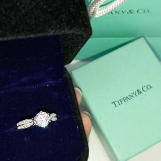 ティファニー(Tiffany & Co.)の超美品Tiffany &Co. ダイヤモンド リング(指輪) レディース 箱付き(リング(指輪))