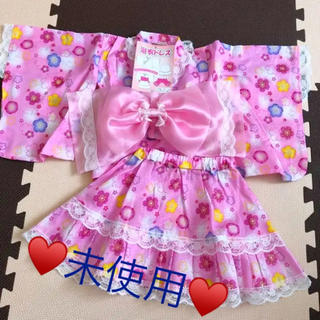 西松屋 - 【未使用♥️浴衣ドレス】