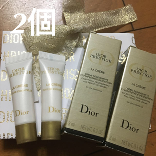 クリスチャンディオール(Christian Dior)のDior ディオール プレステージ クリーム サンプル  ラ クレーム 3ml(フェイスクリーム)