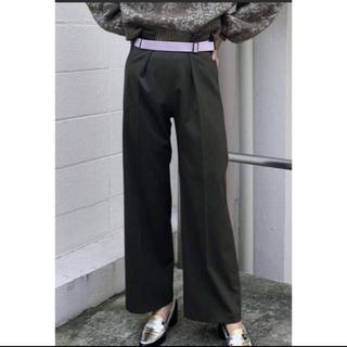 Ameri VINTAGE - Ameri vintage FOLD WAIST TACK PANTS