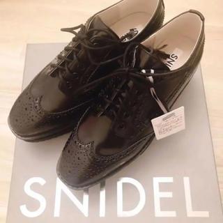 snidel - オックスフォードシューズ ブラック