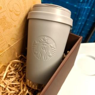 Starbucks Coffee - スターバックス◆ステンレス ToGoロゴ タンブラー◆マットグレージュ◆サイレン