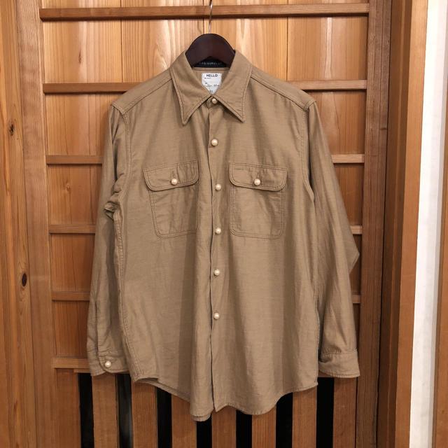 MADISONBLUE(マディソンブルー)のマディソンブルー パールボタン Hamptom シャツ レディースのトップス(シャツ/ブラウス(長袖/七分))の商品写真