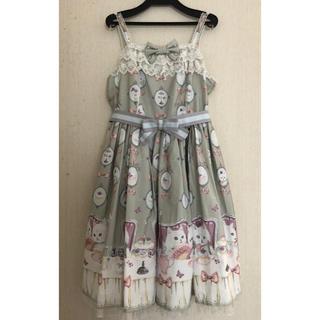 Angelic Pretty - Angelic Pretty 猫のお茶会ジャンパースカートセット