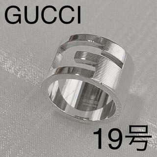Gucci - GUCCI 19号 ブランデッドワイドリング
