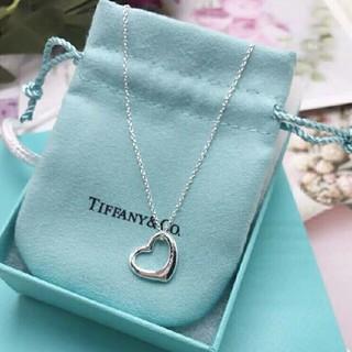 Tiffany & Co. - Tiffanyティファニー オープンハート ネックレス☆お値下げ中