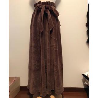 KBF - 新品 ワイドパンツ 茶色‼︎