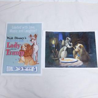 ディズニー(Disney)のディズニー キャラクターアートコレクション ポスター 動物(絵画/タペストリー)