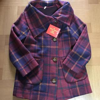 ヴィヴィアンウエストウッド(Vivienne Westwood)のVivienne Westwood RED LABEL チェック コート(ロングコート)