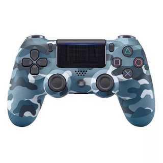 PS4 ワイヤレスコントローラー カモフラージュブルー 青迷彩色 青色