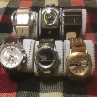 DIESEL - DIESEL 腕時計 電池切れ6本セット