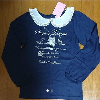 mezzo piano junior - 新品!メゾピアノ 重ね着風 長袖Tシャツ ロンT 150☆140 160 ミキハ