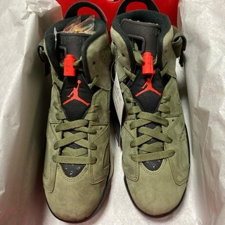 ナイキ(NIKE)のTRAVIS SCOTT NIKE AIR JORDAN 6 24.5cm(スニーカー)