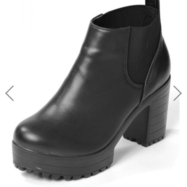 GRL(グレイル)のGRL サイドゴアショートブーツ レディースの靴/シューズ(ブーツ)の商品写真