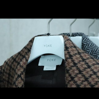 SUNSEA - YOKE バルカラーコート