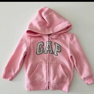 babyGAP - baby GAP パーカー 女の子 ピンク