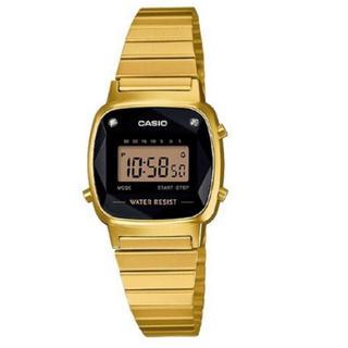 カシオ(CASIO)の送料込【新品】CASIO チプカシ LA670WGAD-1 天然ダイヤモンド(腕時計)