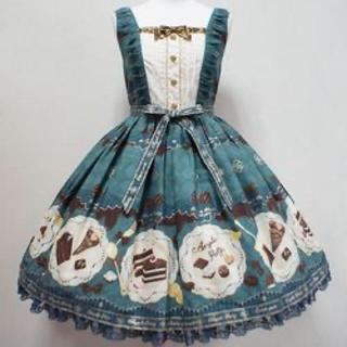 Angelic Pretty - Antique Chocolaterie切替ジャンパースカート