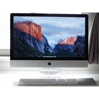 Apple - 最強スペックiMac 27インチ/RAM 32GB/VRAM 4GB