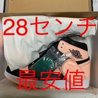 ナイキ(NIKE)のNIKE AIR JORDAN 1 RETRO HIGH OG 28 ピンク(スニーカー)