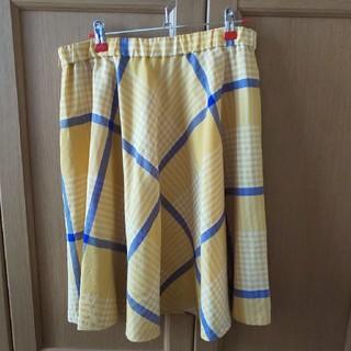 エフデ(ef-de)のエフデ 大きいサイズ スカート(ひざ丈スカート)