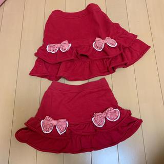 シャーリーテンプル(Shirley Temple)のシャーリーテンプル フリルスカート110.130 (スカート)