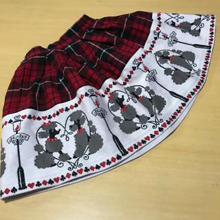 シャーリーテンプル(Shirley Temple)のシャーリーテンプルスカート110cm(スカート)