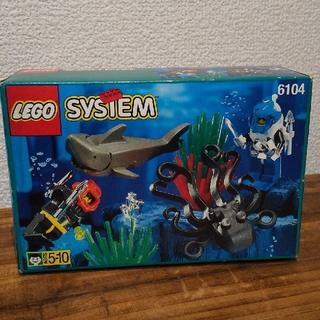 Lego - LEGO レゴ 6104アクアゾーン アクアシャーク 未開封